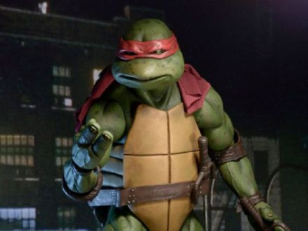 NECA TMNT (1990 Movie) Raphael 1/4 Scale Figure (Teenage Mutant Ninja Turtles)